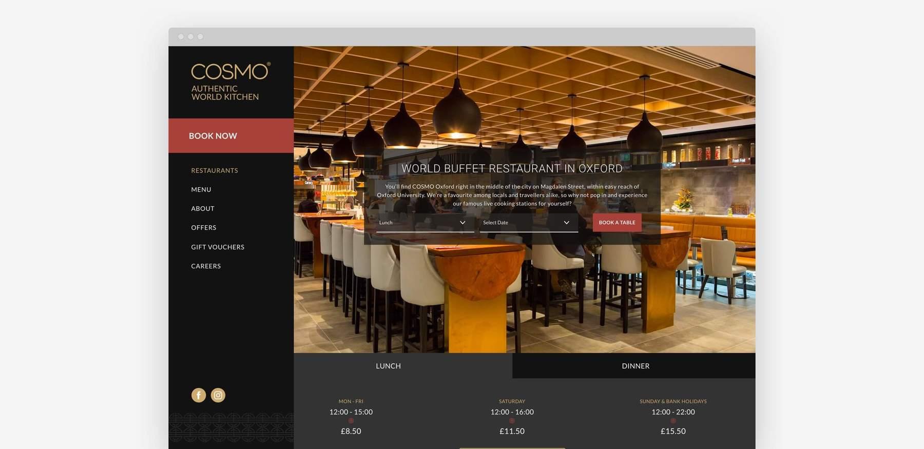 Cosmo - Restaurant