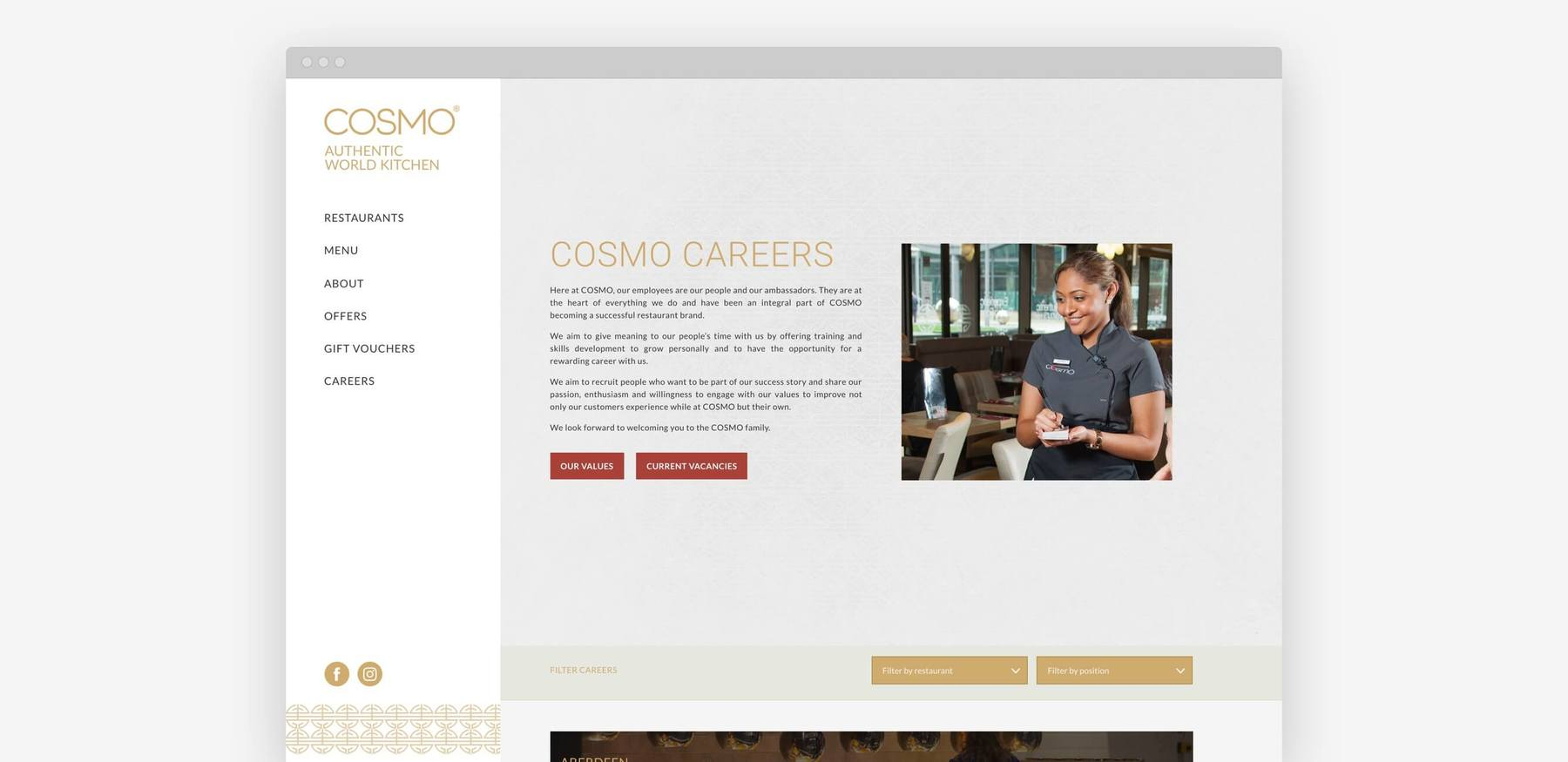 Cosmo - Careers
